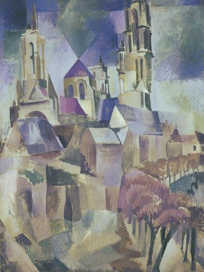 The Towers of Laon, 1912-Robert Delaunay-Giclee Print