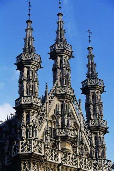 The Towers-Spiers of Old Town Hall--Giclee Print