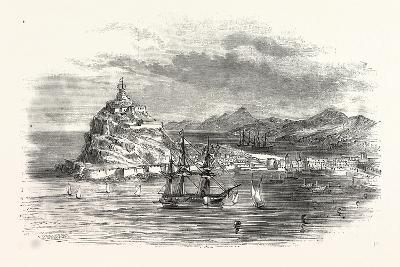 The Town and Harbour, of Ceuta, Morocco--Giclee Print