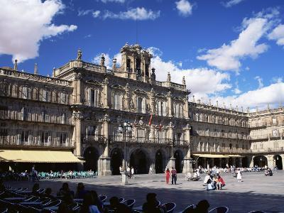 The Town Hall in the Plaza Mayor, Salamanca, Castilla Y Leon, Spain-Ruth Tomlinson-Photographic Print