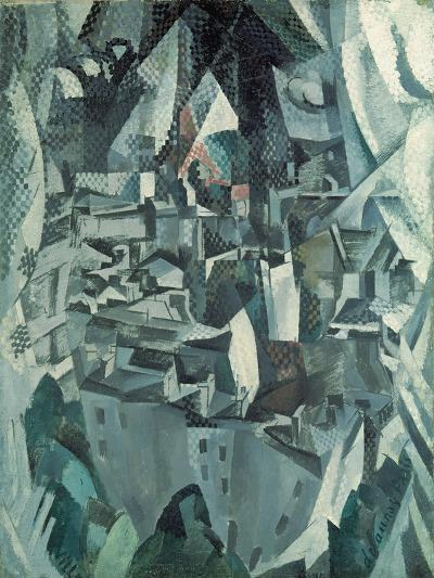 The Town No.2, 1910-Robert Delaunay-Giclee Print