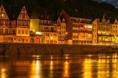 The Town of Cochem Sits on the Banks of the Moselle River-Babak Tafreshi-Photographic Print