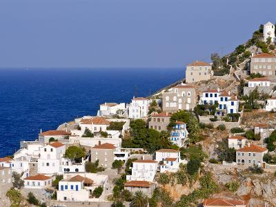 The Town of Hydra on the Island of Hydra, Greek Islands, Greece, Europe--Photographic Print