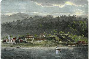 The Town of Morant, Morant Bay, Jamaica, C1880