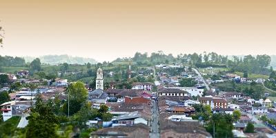 The Town of Salento in Colombia-Kike Calvo-Photographic Print