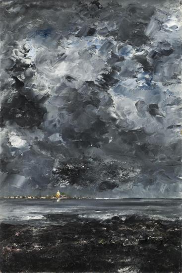 The Town-August Johan Strindberg-Giclee Print
