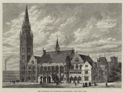 The Townhall of Rochdale, Lancashire--Giclee Print