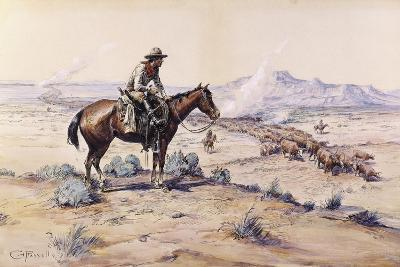 The Trail Boss-Charles Marion Russell-Giclee Print