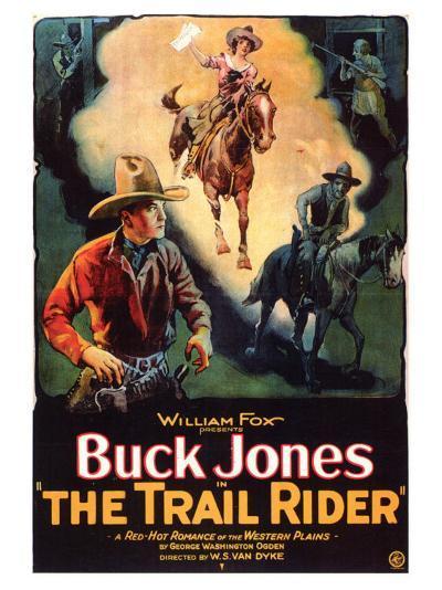 The Trail Rider, 1925--Art Print