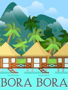 Destination Bora Bora by The Trainyard Cooperative