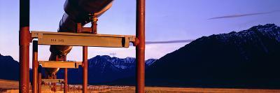 The Trans Alaska Pipeline Just North of the Brooks Range Looking South-Paul Andrew Lawrence-Photographic Print
