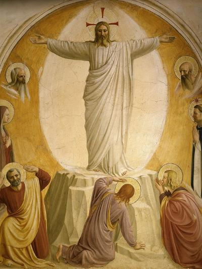 The Transfiguration, Fresco 1437-45, Dormitory, Convent of San Marco, Florence, Italy-Fra Angelico-Giclee Print
