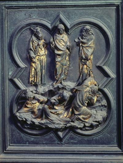 The Transfiguration, Ninth Panel of the North Doors of the Baptistery of San Giovanni, 1403-24-Lorenzo Ghiberti-Giclee Print