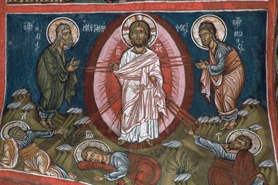 The Transfiguration of Christ, 12th century-Unknown-Giclee Print