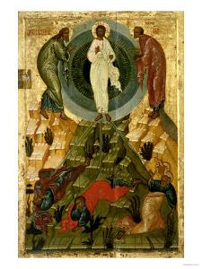 The Transfiguration of Our Lord, Russian Icon from the Holy Theotokos Dormition Church