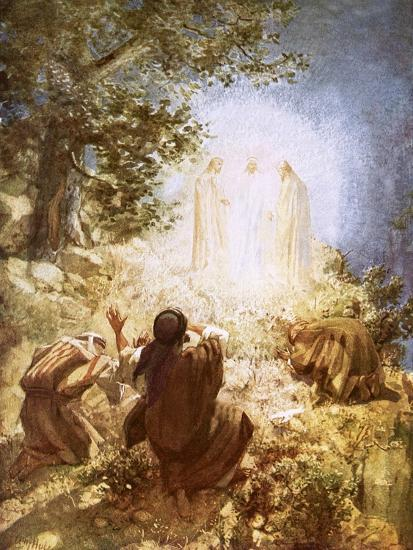 The Transfiguration-William Brassey Hole-Giclee Print