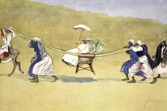 The Transit of Venus', 1908-Lance Thackeray-Giclee Print