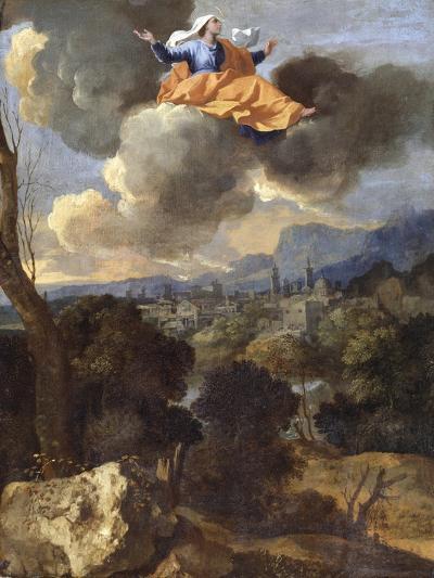 The Translation of St. Rita of Cascia-Nicolas Poussin-Giclee Print
