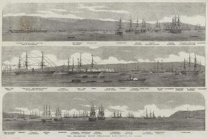The Transport Fleet Embarking the Troops, at Varna