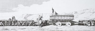 The Transportation of a Monolith from Khorsabad, Iraq, 1867--Giclee Print