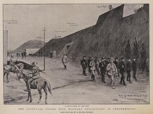 The Transvaal Crisis, Boer Military Precautions at Johannesburg