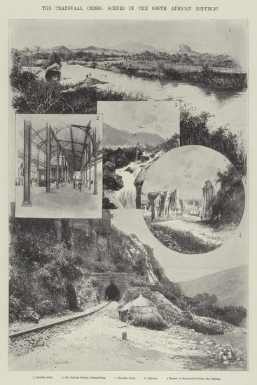 The Transvaal Crisis, Scenes in the South African Republic-Joseph Holland Tringham-Giclee Print