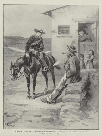 The Transvaal Crisis-Paul Frenzeny-Giclee Print