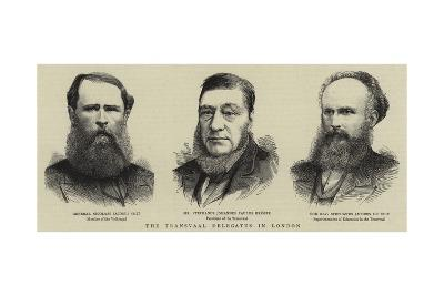 The Transvaal Delegates in London--Giclee Print