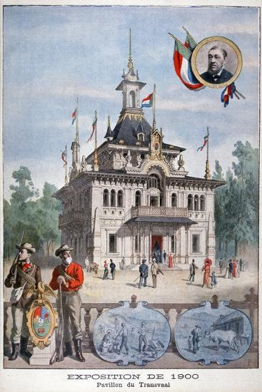 The Transvaal Pavilion at the Universal Exhibition of 1900, Paris, 1900--Giclee Print