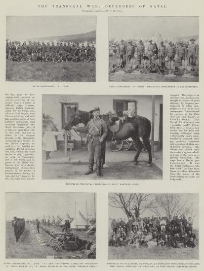 The Transvaal War, Defenders of Natal--Giclee Print