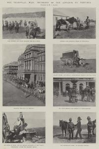 The Transvaal War, Incidents of the Advance to Pretoria