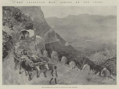 The Transvaal War, Scenes at the Front-Henry Charles Seppings Wright-Giclee Print