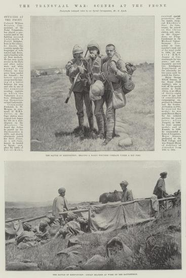 The Transvaal War, Scenes at the Front--Giclee Print
