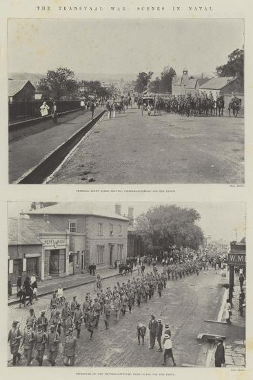 The Transvaal War, Scenes in Natal--Giclee Print