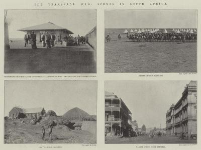 The Transvaal War, Scenes in South Africa--Giclee Print