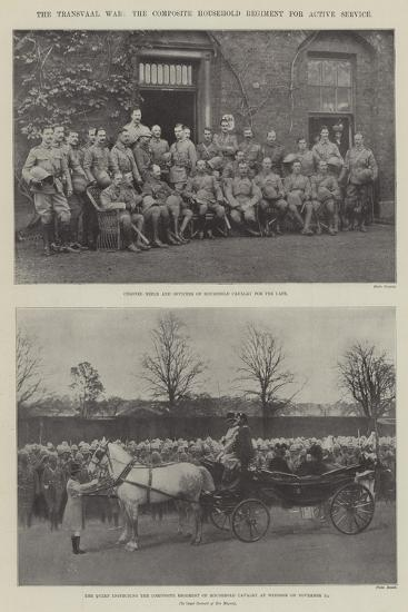 The Transvaal War, the Composite Household Regiment for Active Service--Giclee Print