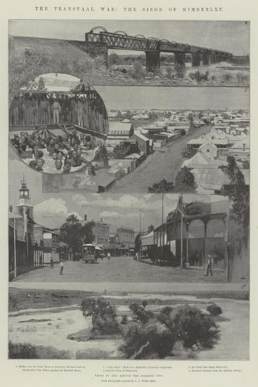 The Transvaal War, the Siege of Kimberley--Giclee Print