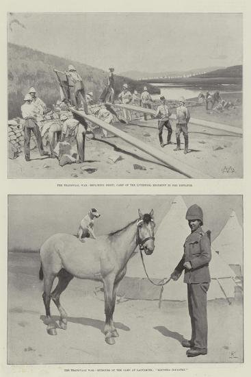 The Transvaal War-Charles Auguste Loye-Giclee Print
