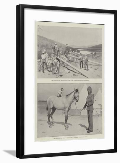 The Transvaal War-Charles Auguste Loye-Framed Giclee Print