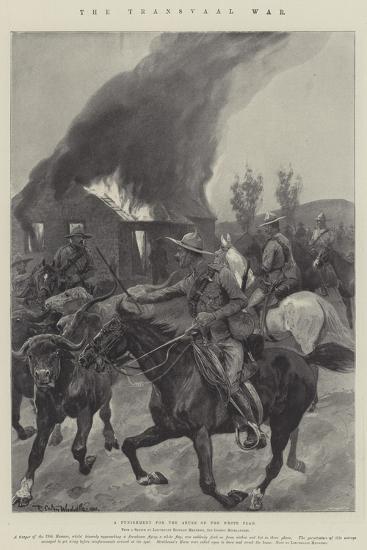 The Transvaal War-Richard Caton Woodville II-Giclee Print