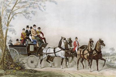 The Travel-James Barenger-Giclee Print