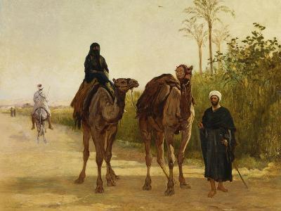 The Travellers, 1874-Heywood Hardy-Giclee Print