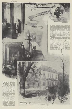 The Travellers' Club-Thomas Walter Wilson-Giclee Print