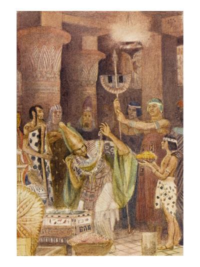 The Treasure Chamber of King Rhampsinitus, Who Possessed Great Wealth--Giclee Print