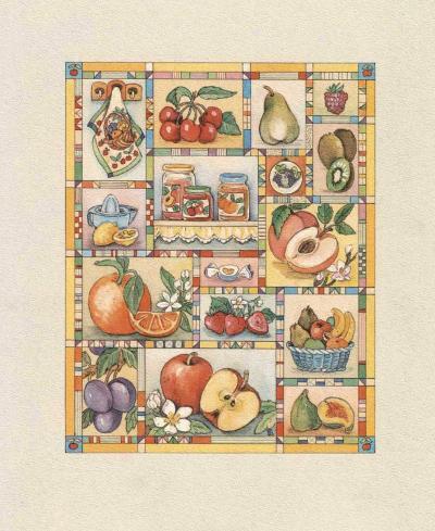 The Treasures of My Garden III-C^ Meredith-Art Print