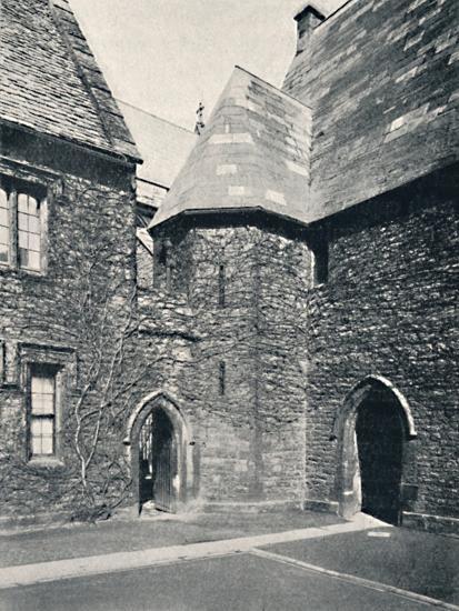 'The Treasury, Merton College, Oxford', 1903-Unknown-Photographic Print