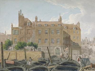 The Treasury, Whitehall, Westminster, London, 1818-Robert Blemmell Schnebbelie-Giclee Print