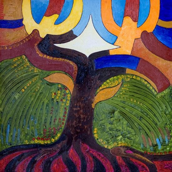 The Tree of Knowledge, 2007-Jan Groneberg-Giclee Print