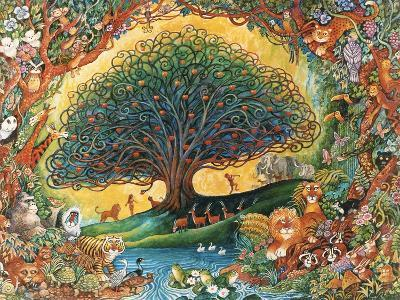 The Tree of Knowledge (Eden)-Bill Bell-Giclee Print