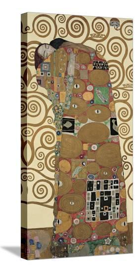 The Tree of Life III-Gustav Klimt-Stretched Canvas Print